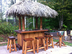 Cedar buy garden patio items for your home in for Home bar furniture kijiji