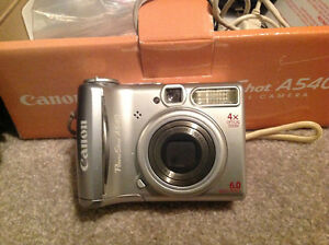 Canon Power Shot A540 Camera w/extras