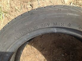 225/55/18 tyres for sale