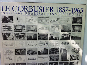 Laminated Print Le Corbusier 1887-1965, 1905-1968 by Lidiarts Peterborough Peterborough Area image 4