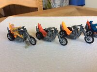 Hot wheel Rumblers and Chopcycles from the 70's