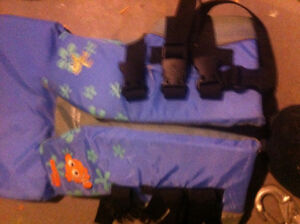 Two youth life jackets