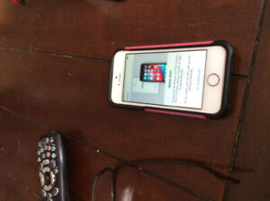 I Phone 6  SE for sale.Screen and phone itself always protected.