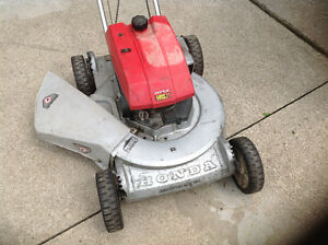 "Older Powerful HRS21  Honda 20""cut mower in great condition"