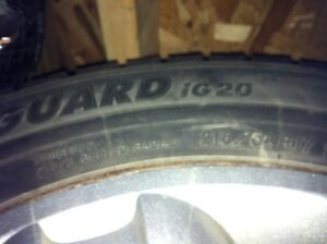 Winter tires 215 / 60 R17 96R