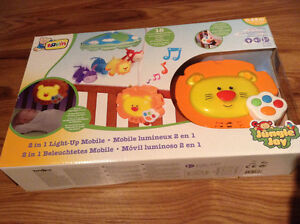 Baby 2in1 light-up mobile