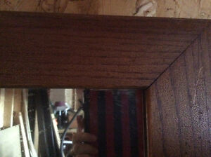 Large Mirror in wide frame