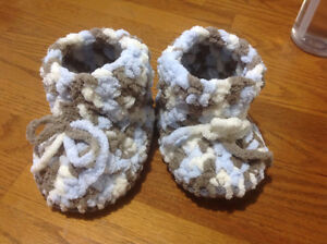 Baby Crochet Slippers