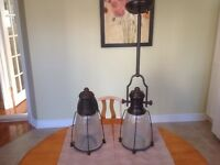 2 light fixtures for sale.