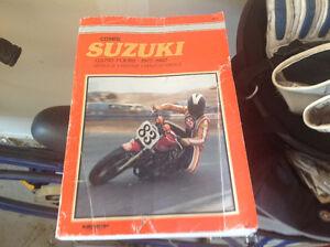 Suzuki Gs750 Fours 1977-1982 Clymers Manual