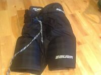 Hockey Pants, Shin Pads, Mission shorts with Cup And Blades