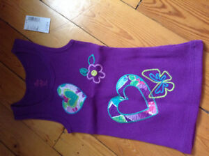 Girls Brand New Children's Place tank top with tags on-Size 4T
