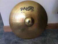Paiste 101 ride cymbal