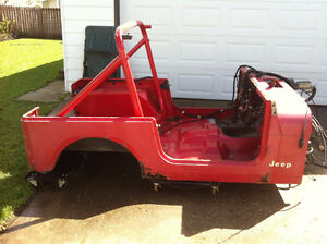 Jeep YJ tub and rollbar