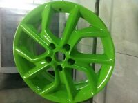 400$ for 4 rims powder coat the colour you won't