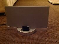 BOSE SOUNDDOCK BLUETOOTH SPEAKER SERIES 2 SILVER
