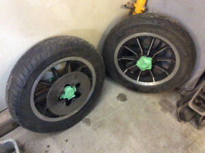 16x3 rims with 130-90 tires