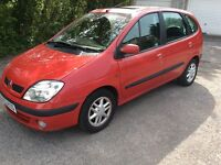 Renault scenic dynamic 1.9 dci red good runner