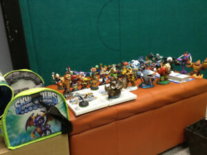 Nintendo Wii Skylander Games and Figures