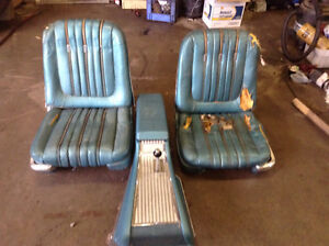 1964 Galaxie Seats and Console