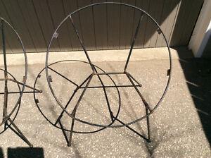 SUPER RARE Pair of John Hauser Hoop Chair Frames with Armrests Kitchener / Waterloo Kitchener Area image 7