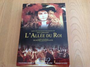 """DVD """"L'ALLÉE DU ROI""""' film historique"""