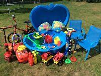 Outdoor Toy Bundle