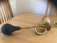 Vintage car horn