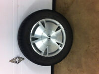 Honda Civic Rims with Winter Tires 195/65R15