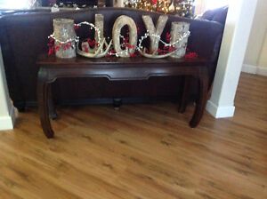 Coffee table and matching sofa table