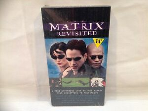 MATRIX REVISITED VHS TAPE  (FACTORY SEALED )