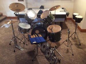 Peavey International Series Drum Set - green