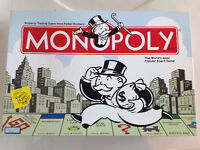 Classic Monopoly Board Game - complete set, like new!