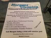 MORGAN CLEANING SERVICE  & COMMERCIAL  CLEANING