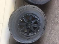 4 cooper discoverer M+S tires 5 bolt off Ram 1500