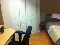 Avail immed room in east end apt all incl