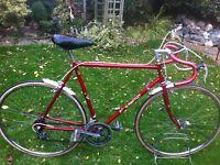 "Retro doug Hartley road bike 23"" frame"