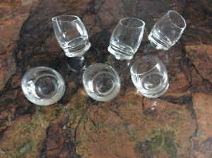 Shot glasses Rolly style set of 6