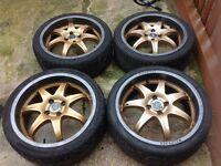 Wolf race alloys wheels