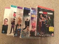 The Big Bang Theory series 1-6