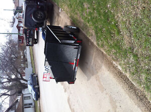 Black trailer for sale 600$ or serious offer