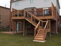 Deck and Fence Building