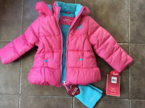 Girls Winter Jacket NEW with tags, regular retail $80 plus tax