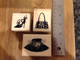 Stampendous Fashion Accessories Rubber Stamps
