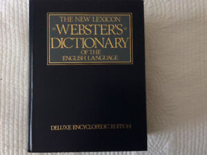 Webster deluxe lexicon