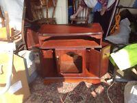 Ross More mahogany tv cabinet