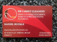 Looking for work, cleaning carpets and flooring deep cleans.