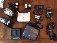 Sony DV Cameras etc