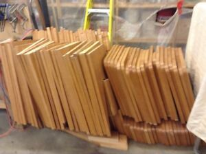 """100 solid oak bench ends 1.18"""" thick  780 467 2217"""