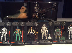 Star Wars Black Series Sealed in Boxes